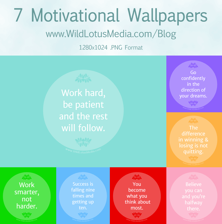 Free Downloadable Inspirational Wallpaper Graphics