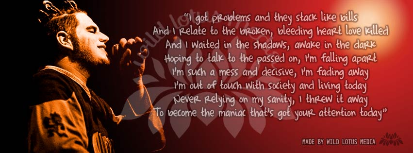 Fan art print and free download of Jamie Madrox, lyrics from Afriad of Me by Twiztid