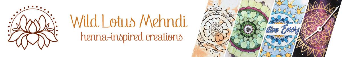 Wild Lotus Mehndi - Henna-inspired creations